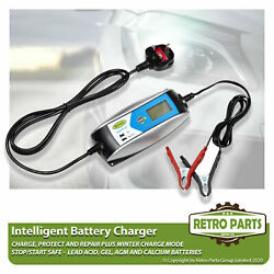 Smart Automatic Battery Charger For Peugeot 206 Sw. Inteligent 5 Stage