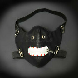 Leather Masquerade Masks Cyberpunk M37007