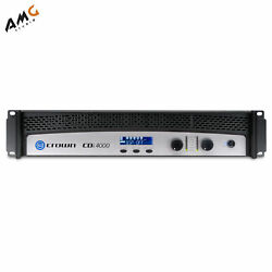 Crown Audio Cdi4000 Solid-state 2-channel Amplifier Power 1200w Per Channel