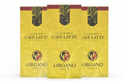 3 Boxes Organo Gold Cafe Latte 100% Ganoderma Gourmet Coffee 2 Day Delivery
