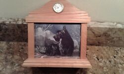 Scottish Terrier Original Artwork Mantle Clock