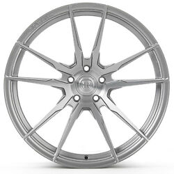 19 Rohana Rf2 Brushed Titanium Concave Wheels For Chevy