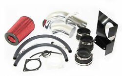 Fit Ford 97-03f150 Expedition/97-99 F-250 4.6l 5.4l V8 Red Filter Air Intake Kit