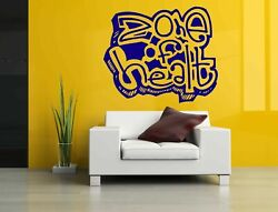 Wall Decal Room Sticker Zone Of Health Graphics Art Healthy Life Style Bo3004