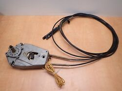 Mercury Outboard Control Box w12 Foot Cables