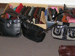 ladies purse collection handbags HUGE! coachfossil many more!