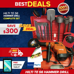 Hilti Te 56 Hammer Drilll@@k In Great Condition Very Strong Fast Shipping