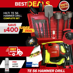 Hilti Te 56 Hammer Drill In Great Condition Very Strong Fast Shipping