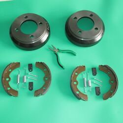 Ds Club Car Golf Cart Brake Drums | Shoes | Springs 1981-1994 Gas And Electric