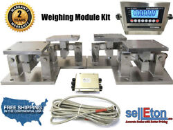 Load Cell Conversion Kit Weigh Module For Scale Tank Hoppers And Vessels 10k Lbs
