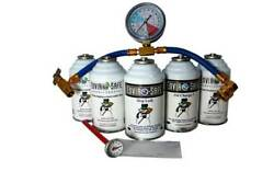 R12 R 134a Alternate AC Recharge Kit  Refrigerant Equivalent to 59.8 oz 134a