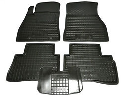Rubber Carmats For Nissan Juke 2010-2016 All Weather Floor Mats Fully Tailored