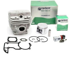 Meteor Cylinder Piston Kit For Stihl Ms660 066 54mm With Gaskets Italy Nikasil