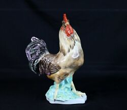 Rare Herend Animal Figurine Rooster 5148-0-00/c Excellent Condition