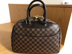 Hard to find Authentic LOUIS VUITTON Deauville Damier Great bag!