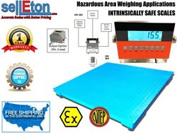 Ntep 24 X 24 Certified Explosion Proof Intrinsically Safe Floor Scale