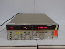 Used Hewlett Packard 8672a Synthesized Signal Generator No Power Cord,boxyr