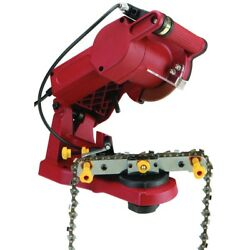 Electric Chain Saw Sharpener Grinder Chainsaw Mount To Bench Wall Vise Free Ship