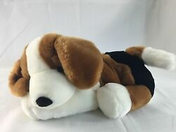 Commonwealth BEAGLE PUPPY DOG brown white plush stuffed animal 14