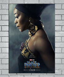 E522 Art Black Panther Movie Marvel Comic 2018 18 24x36inch Poster New Gift