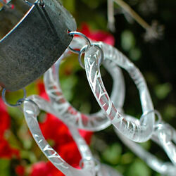 Three Strand Wind Chime   Recycled Upcycled Polish Vodka Glass Bottle Rings