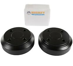 Club Car Rear Brake Drums For Ds And Precedent Golf Carts Electric 1995-up 2 Pcs