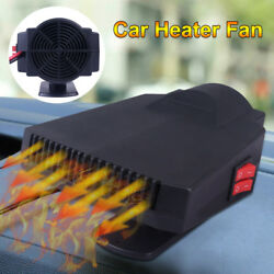 12V 200W Auto Dash Mount & Handy Portable Hot & Cold Car Heater Fan & Defroster
