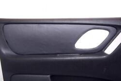 Front Door Panel Leather Synthetic Cover For Ford Escape 01-07 Gray