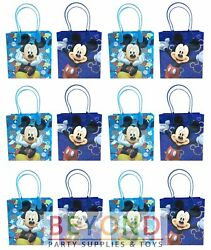 Mickey Mouse Goody Bags Disney Mickey Mouse Party Favor Goodie Bags Gift Bags