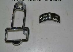 1941 Buick And Others Headlight And Right Tail Light Bezel Trim Nos