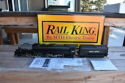 MTH Rail King Union Pacific Big Boy Steam Engine 30-1129 Cab # 4020