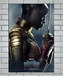 E255 Art Black Panther Movie Marvel Comic 2018 18 24x36inch Poster New Gift