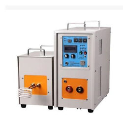 40KW 30-100KHz High Frequency Induction Heater Furnace LH-40AB