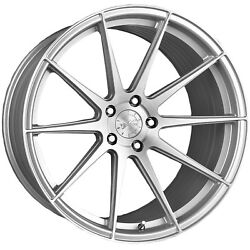 19 Vertini Rf1.3 Brushed Silver Concave Wheels For Dodge