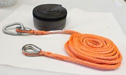 5/8 Helicopter Net Long Lines W/ 12 Strand Uhmwpe Dyneema Rope-6400 Lbs Wll