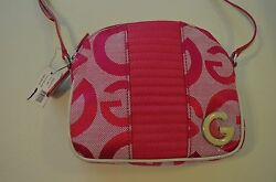 NWT G by Guess Women's Amil Mini Small Crossbody Purse  Shoulder Bag in Pink