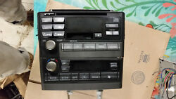 OEM 00 01 02 03 NISSAN MAXIMA BOSE RADIO RECEIVER TAPE CD PLAYER CLIMATE PN2281D