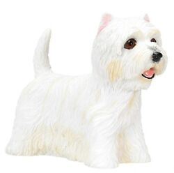 West Highland Terrier (Westie) Dog - Collectible Statue Figure Yorkie New