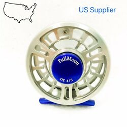 Super Sale Fmo Fly Reel 4/5wt Cnc Machined Fly Reel Large Arbor Disc Drag