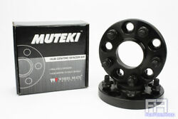 Muteki Forged 20mm 25/32 Hub Centric Wheel Spacer Adapter 5x100 56.1mm 12x1.25