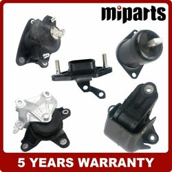 New Engine Motor And Trans Mount Kit Fit For Honda Accord Tsx 2.4l Dohc 08-14