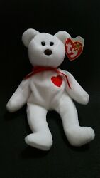 Ty Beanie Baby Valentino - Mwmt Style 4058 4th/5th Gen Tags P.v.c.