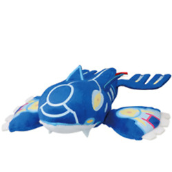 My Pokemon Collection Kyogre 4 Mpc Plush Toy Doll Keychain Ball Chain Ufo New