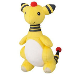 My Pokemon Collection Ampharos 5 Mpc Plush Toy Doll Keychain Ball Chain Ufo New