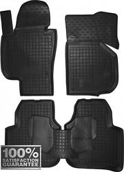 Rubber Carmats For Skoda Superb 2009-2013 All Weather Tailored Floor Mats