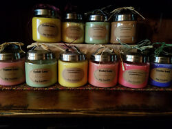 Spring/summer, 8 Oz And.16 Oz. Apothecary Jar, Handmade Soy Candles