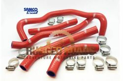 Samco Sport Silicon Hose Kit - Red - Crf1000 - Hon-108-rd