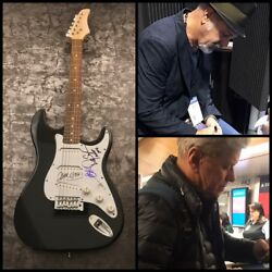 Gfa Peter Cetera X3 Danny Lee Chicago Band Signed Electric Guitar Proof Coa