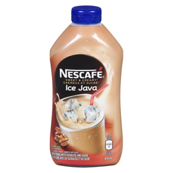 12x Bottles Of Nescafe Ice Cappuccino Coffee Syrup Canada Direct 470mlx12