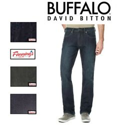 SALE! Buffalo David Bitton Driven-X Mens Straight Fit Stretch Classic Jeans  E11